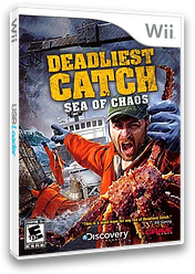 Deadliest Catch:Sea of Chaos Wii cover (SOCE4Z)