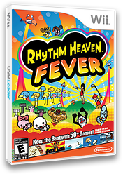 Rhythm Heaven Fever Wii cover (SOME01)