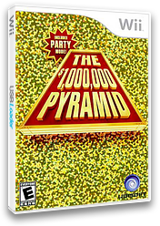 The $1,000,000 Pyramid Wii cover (SP3E41)