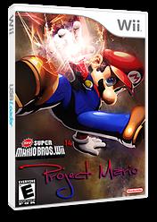 New Super Mario Bros. Wii 14 Project Mario CUSTOM cover (SPRE01)