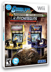 Gunblade NY & LA Machineguns: Arcade Hits Pack Wii cover (SQDE8P)
