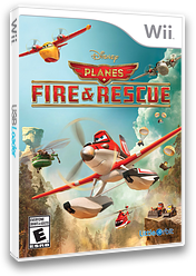 Disney Planes: Fire & Rescue Wii cover (SQQEVZ)