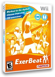 ExerBeat: Gym Class Workout Wii cover (SRYEAF)
