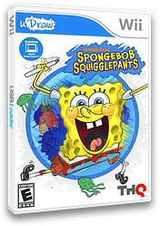 SpongeBob SquigglePants Wii cover (SS8E78)