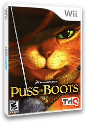 Puss in Boots Wii cover (SSBE78)