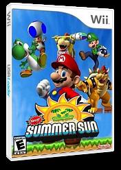 New Super Mario Bros. Wii: Summer Sun CUSTOM cover (SSSE01)