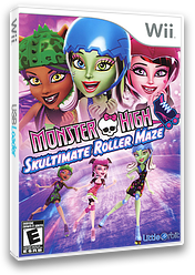 Monster High: Skultimate Roller Maze Wii cover (SU5EVZ)