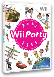 Wii Party Wii cover (SUPE01)