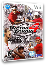 Virtua Tennis 4 Wii cover (SV4E8P)