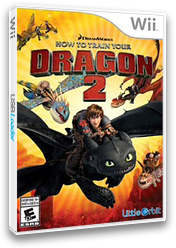 How to Train Your Dragon 2 Wii cover (SVZEVZ)
