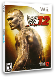 WWE '12 Wii cover (SW6E78)