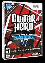Guitar Hero: Van Halen Wii cover (SXDE52)