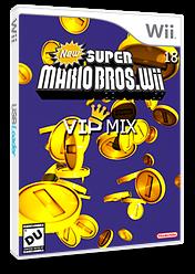 New Super Mario Bros Wii 18 Vip Mix CUSTOM cover (VIPE01)