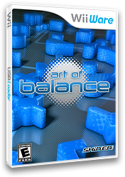 Art of Balance WiiWare cover (WABE)