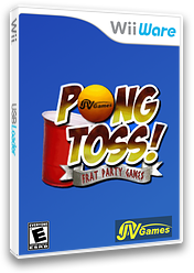 Pong Toss: Frat Party Games WiiWare cover (WBEE)