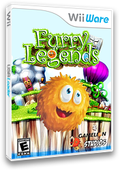 Furry Legends WiiWare cover (WFUE)