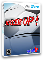 Soccer Up WiiWare cover (WFVE)