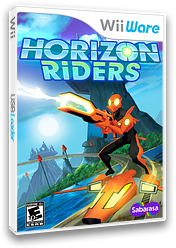Horizon Riders WiiWare cover (WHZE)