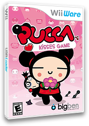 Pucca's Kisses Game WiiWare cover (WPJE)