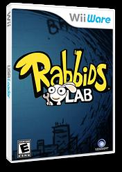 Rabbids Lab WiiWare cover (WR2E)