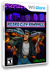 Retro City Rampage WiiWare cover (WR5E)