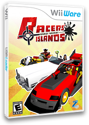 Racers' Islands - Crazy Arenas WiiWare cover (WREE)