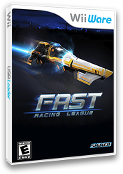 FAST Racing League WiiWare cover (WRLE)