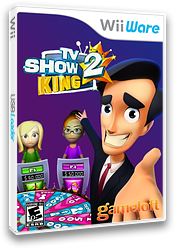 TV Show King 2 WiiWare cover (WTKE)