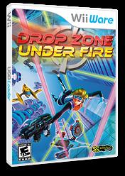 Drop Zone: Under Fire WiiWare cover (WUFE)