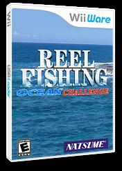 Reel Fishing Ocean Challenge WiiWare cover (WXRE)