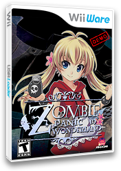 Zombie Panic (Demo) WiiWare cover (XHQE)