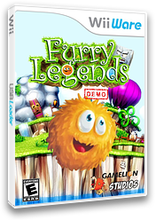 Furry Legends (Demo) WiiWare cover (XHRE)
