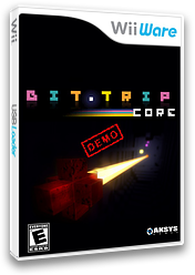 BIT.TRIP CORE (Demo) WiiWare cover (XHVE)