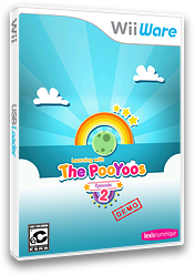 Learning with the Pooyoos Episode 2 Demo WiiWare cover (XIOE)