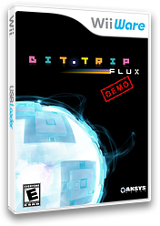 BIT.TRIP FLUX Demo WiiWare cover (XISE)