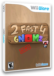 2 Fast 4 Gnomz Demo WiiWare cover (XJIE)