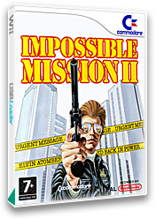 Impossible Mission II VC-C64 cover (C9SP)