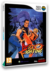 Art of Fighting VC-NEOGEO cover (EADP)