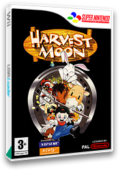 Harvest Moon VC-SNES cover (JB3P)