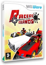 Racers Islands Crazy Arenas WiiWare cover (WREP)