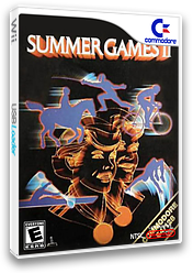 Summer Games II VC-C64 cover (C96E)