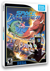 Space Harrier VC-Arcade cover (E62E)