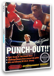 Punch Out!! Featuring Mr. Dream VC-NES cover (FBIE)