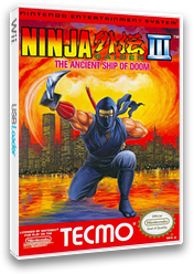 Ninja Gaiden III: The Ancient Ship of Doom VC-NES cover (FDLE)