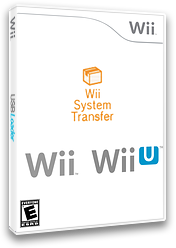 Wii System Transfer Channel cover (HCTE)