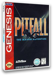 Pitfall: The Mayan Adventure VC-MD cover (MCVE)