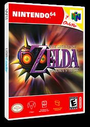 The Legend of Zelda: Majora's Mask VC-N64 cover (NARE)
