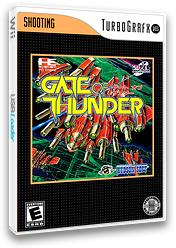 Gate of Thunder VC-PCE cover (QAGE)