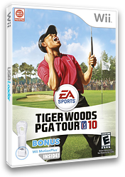 Tiger Woods PGA Tour 10 Wii cover (R9OE69)