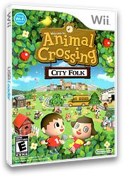 Animal Crossing: City Folk Wii cover (RUUE01)